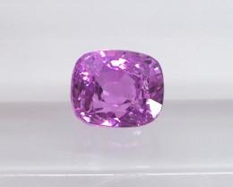 1.03ct unheated pink sapphire