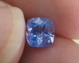 1.04ct unheated blue sapphire