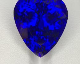 $67000 ~ GIA ~ 38.48 CTS D Block Natural Tanzanite Flawless Gem