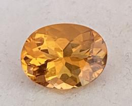 PRetty Bright Orangey Yellow Quality Citrine - Brazil KR129