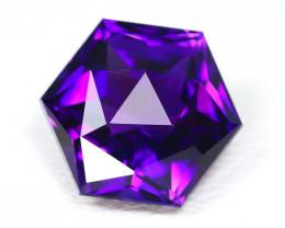 Amethyst 4.24Ct VVS Master Cut Natural Uruguay Violet Amethyst SB830