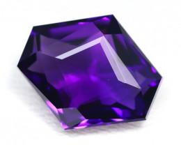 Amethyst 3.90Ct VVS Master Cut Natural Uruguay Violet Amethyst SB833