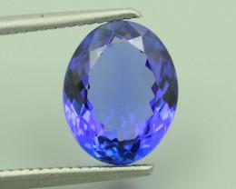 AAA Grade Tanzanite 4.85 ct Attractive Blue Hue SKU-40