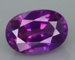 Purplish Color Shift Sapphire 1.30 ct Sri Lankan Mined  SKU.38