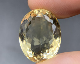 15.65 Cts Top Clean Quality Yellow Citrine. Ctr-4142
