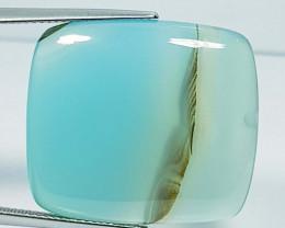 33.85 ct Natural Blue Lace Agate Rectangular Cabochon  Gemstone