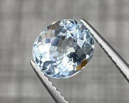 Natural Aquamarine 2 cts Sparkling Gemstone