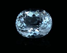6.30  Cts Natural blue Aquamarine Gemstone