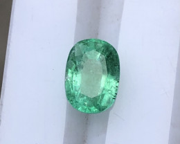 ~NO RESERVE~1.40 Carats Natural Emerald Gemstone From Panjsher Afghanistan