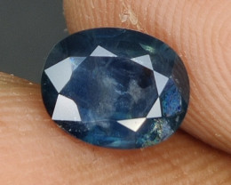 1.30 CTS EXCEPTIONAL NATURAL SAPPHIRE OVAL MADAGASCAR!!