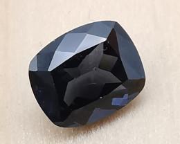 Spinel, 2.135ct, grey, blue coloured beautiful gemstone!