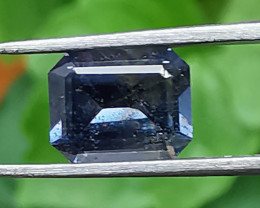 Spinel, 1.23ct, grey beauty the right stone for a pendant or ring!