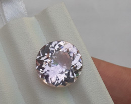 HGTL Certified~NO RESERVE~9.70 Carats Natural Kunzite Nice Cut Gemstone