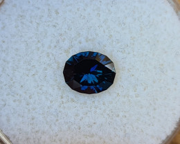 1,00ct Royal blue to light blue colour shift Sapphire - Master cut!