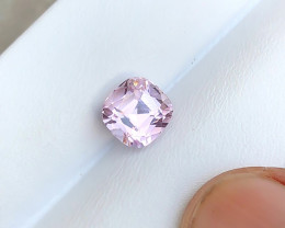 3.50 Carats Natural Pink Kunzite Cut Stone from Afghanistan