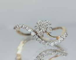 Certified Diamond Ring , Buy Ring Online , 1.52 gm