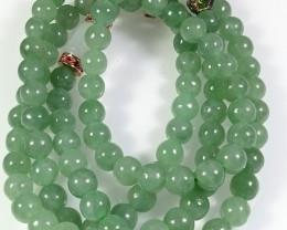 Natural Grade A Jadeite Jade Necklace