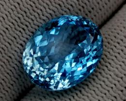 12.15CT BLUE TOPAZ BEST QUALITY GEMSTONE IIGC105