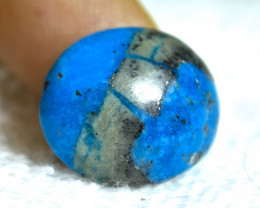 21.0 Carat Himalayan Turquoise Cabochon - Gorgeous