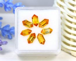 Citrine 3.64Ct VS Fancy Cut Natural Golden Yellow Citrine Lot SC338