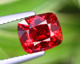 2.125 CT SPINEL RED 100% NATURAL UNHEATED BURMESE
