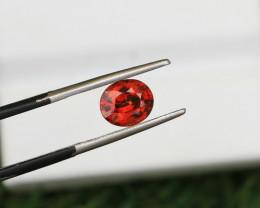 1.47 CTs Natural & Unheated~ IGI Certified Orange Garnet Gemstone