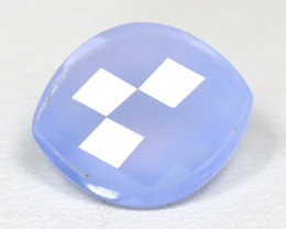 Chalcedony 4.00Ct Fancy Cut Natural Blue Color Chalcedony SC446