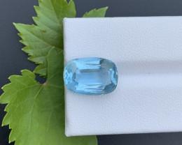 AAA Grade 6.50 ct Santa Maria Color Aquamarine~K