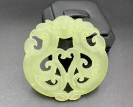 Elegant, Beautiful Hand Carving Jade.