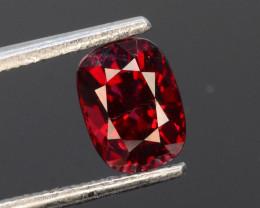Burma Origin 1.25 Ct Rare Red Spinel ~ Brilliant Cut