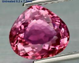 1.81ct VVS Pink Tourmaline - Mozambique / 8.2x7.3mm
