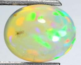 Flashing!!! 1.20 Cts Natural Multi-Color Play Opal Cabochon