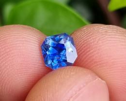 NO HEAT 1.20 CTS CERTIFIED TOP CORNFLOWER BLUE SAPPHIRE SRI LANKA