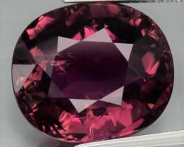 Big! 10.15 ct Natural Earth Mined Unheated Pinkish Purple Tourmaline, Mozam