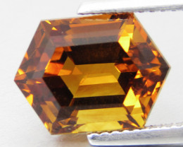 4.79Cts Excellent Natural Madeira Citrine Fancy Cut Loose Gemstonee