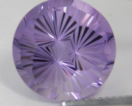 8.65Cts Excellent Quality Natural Amethyst Round precision Cut Loose Gem