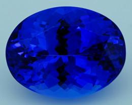 4.65 CT $2000 Royal Blue Top Quality Natural Tanzanite T2-21
