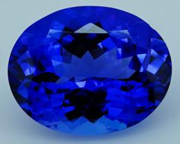 3.80 CT Royal Blue Top Quality Natural Tanzanite T2-24