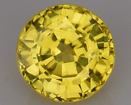 1.24 Ct Natural Zircon With Good Luster Gemstone ZR16