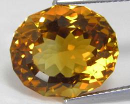 9.67Cts Genuine  Natural Citrine Oval Custom Cut Loose Gemstone