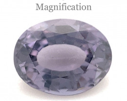 0.93ct Oval Violet Spinel from Sri Lanka - $1 No Reserve Auction