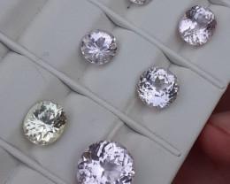 22.5 Carats Natural Kunzite Nice Cut Gemstone