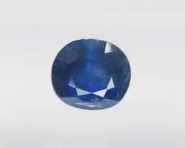 0.84ct natural unheated blue sapphire