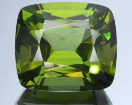 No Treat&NoHeat 47.93Ct Green Apatite Good Clarity Cut Gemstone