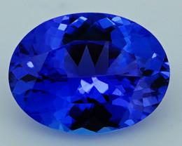3.16 CT 11X8 MM Royal Blue Top Quality Natural Tanzanite T2-33
