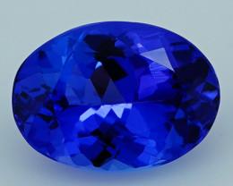 3.12 CT Royal Blue Top Quality Natural Tanzanite T2-34