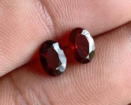 Garnet Gemstone pair 100% NATURAL AND UNTREATED VA1559