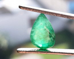 Natural emerald – 3.37 ct ( Pear Cut)