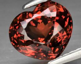 Stunning! 3.03 ct Natural Earth Mined  Reddish Orange Spessartite Garnet