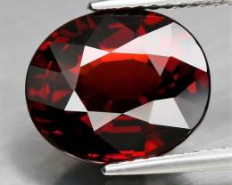 5.33 ctNatural Earth Mined Purplish Red Rhodolite Garnet, Madagascar